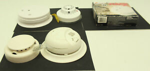 Mixed Lot Of Of 5 Fire Alarms And Heat Detectors Various Brands