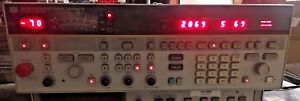 Hp Agilent 8673h Opt 212 Synthesized Signal Sweep Generator 2 To 12 4 Ghz