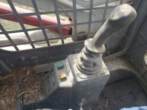 Takeuchi Tl130 Skid Steer Left Joystick W valve 1901734100 Less Pedastal
