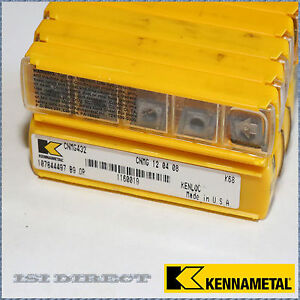 Cnmg 432 K68 Kennametal 10 Inserts Factory Pack
