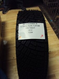 Bf Goodrich G Force Rally Gzs4r 195 70 15 Rally Car Brand New Tire