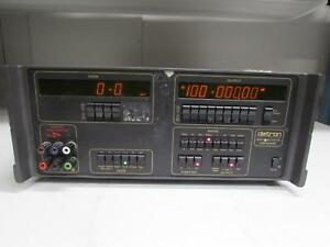 Datron 4000a Dc Calibrator W Opt 20 ohms Dci 90 rack Mount 1