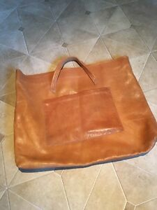 Vintage Custom Handmade Leather Portfolio Bag