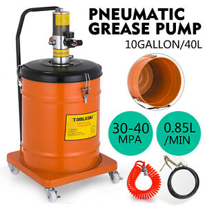 10 Gallon Grease Pump Air Pneumatic 40l Air Operated 30 40 Mpa High Pressure
