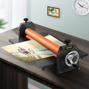 25 5in Cold Laminator Manual Roll Laminator Vinyl Photo Film Laminating Machine