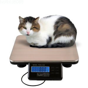 Lcd Digital Floor Bench Waterproof Platform Scale Postal Shipping 300kg Weigh
