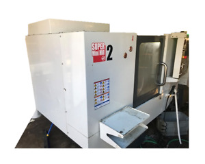 Haas Super Mini Mill 2 Used Cnc Vertical Machining Center