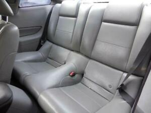 2006 Ford Mustang Base Coupe Rear Seat Bench Seats Leather