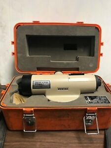 Pentax Pal Series 5c Automatic Auto Level With Case