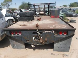 03 09 Dodge Truck 1500 2500 3500 Used Utility Flat Bed Box Short Bed 8