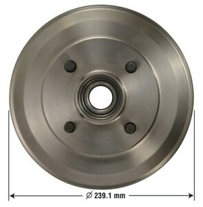 Brake Drum Rear Omniparts 13034092 Fits 2009 Ford Focus