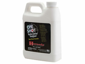 Hornady One Shot Sonic Cleaner Ultrasonic Firearms Cleaning Solution 043361