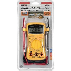 Innova Equus 3300 Digital Multimeter Reader