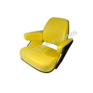 John Deere New Yellow Seat Assembly Cushion 4020 4040 4320 2955 4630 4640