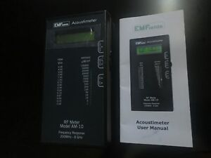 Acoustimeter Rf Meter Model Am 10 Radio Frequency Emf Protection The Best