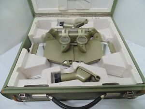 Wild Heerbrugg St4 Mirror Stereoscope In Foam Lined Case Swiss Made Excellent