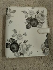 New Franklin Covey Floral Binder Planner Love Snap Classic 1 25 Rings