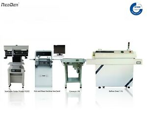 Save 800 Smt Line neoden Pick And Place Machine Neoden4 printer oven conveyor
