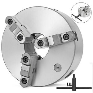 K11 200 3 Jaw Lathe Chuck 200mm Self Centering For Drilling Milling Tool