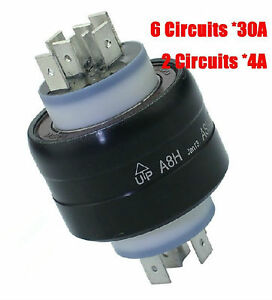 New Asiantoo A8h 8 Poles Mercury Conductive Slip Ring ex 2