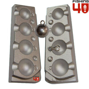 CannonBall Lead Fishing Mould 30-40-60-75g  Fishing Weight Lead Mould $39.00