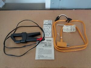 Fluke Lca 10 Line Current Test Adapter Fluke 80i 400 Ac Current Probe