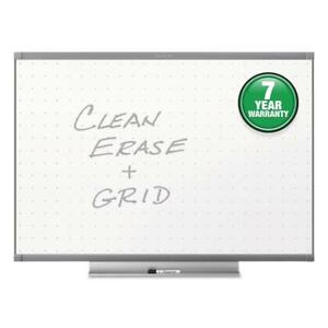 Quartet Prestige 2 Total Erase Whiteboard 72 X 48 Graphite Color Frame