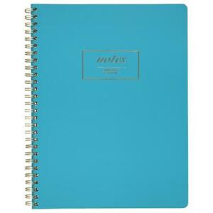 Cambridge Fashion Twinwire Business Notebook 80 Sheets 9 X 7 Teal