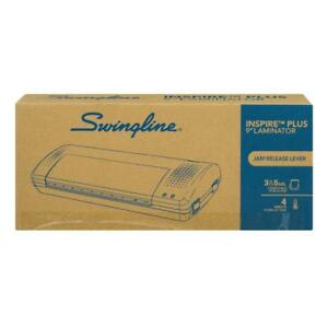 Swingline Inspire Plus Thermal Pouch Laminator 9 Max Width 4 Minute
