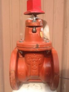 Kennedy 3 ks fw Fire Main Gate Valve nos never Been Used