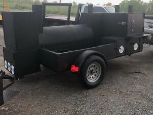 Perfect Draft Propane Asst Pizza Oven Bbq Grill Smoker Grill Trailer Food Truck