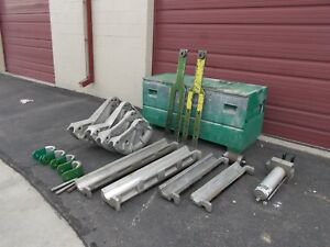 Greenlee 881ct 881 Ct Cam Track One Shot Bender Good Condition