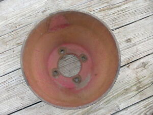 Farmall H m 300 400 460 560 Belt Pulley 356940r1 Steampunk Industrial Machine