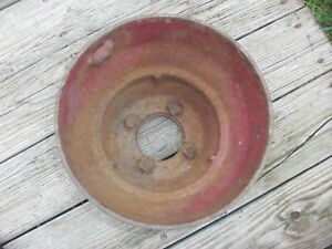 Farmall H m 300 400 460 560 Belt Pulley 356942r1 Steampunk Industrial Machine