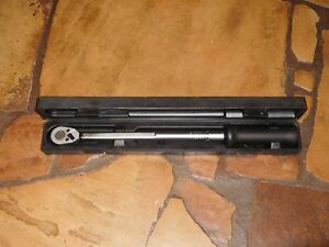 Hazet Tools 6127 ct Torque Wrench 1 2 Drive 30 200 Ft lbs Made In West Germany