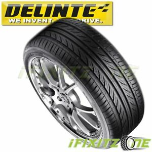 1 Delinte Thunder D7 225 40r19 93w Xl Ultra High Performance Tires 225 40 19