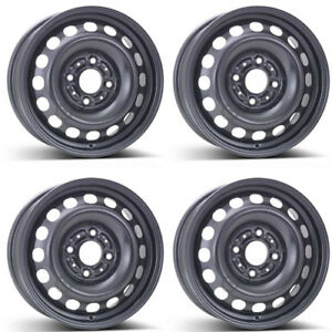 4 Alcar Steel Wheels 7960 6 0x15 Et46 4x114 For Smart Forfour Rims