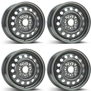 4 Alcar Steel Wheels 8110 6 0x15 Et46 4x114 For Mitsubishi Galant Lancer Rims