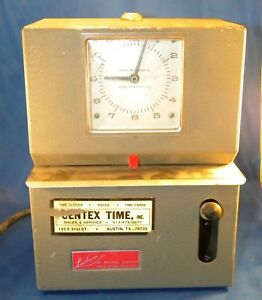 Vintage Lathem Time Clock Model 2121