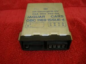 87 92 Jaguar Xj6 Cruise Speed Control Module Unit 5ga00474000