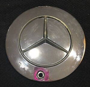 Mercedes Benz Chrome Gold Center Wheel Pro Rim Cap Lug Hub Cover Sl450 Lot 31