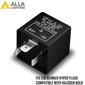 Alla Lighting Turn Signal Hazard Led Flasher Relay Cf13 3pin No Fast Hyper Flash