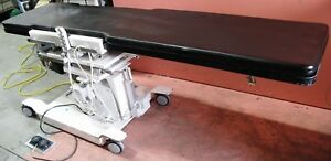 Morgan Medesign Fltlt C arm Table Positioner Imaging Table With Hand Controller