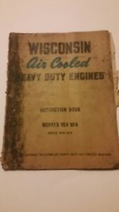 Wisconsin air Cooled Heavy Duty Engines_models Ve4 Vf4_instruction Book