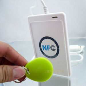 Nfc Acr122u Rfid Contactless Smart Reader Writer usb mifare Ic Card uid