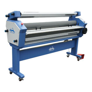 Us Stock 1600mm Full auto Wide Format Cold Laminator With Heat Assisted stand