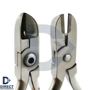 Dental Hard Wire Cutter Tc Orthodontic Braces Pin Ligatures Heavy Duty Plier Lab