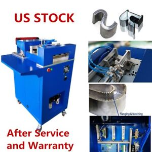 Us Stock Ving Cnc Notching Notcher Machine For Metal Channel Letter Single Side