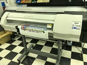 Roland Versacamm Sp 300v 30 Printer Cutter Eco Solvent
