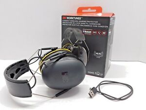 3m Worktunes Connect Hearing Protector With Bluetooth Technology 3m